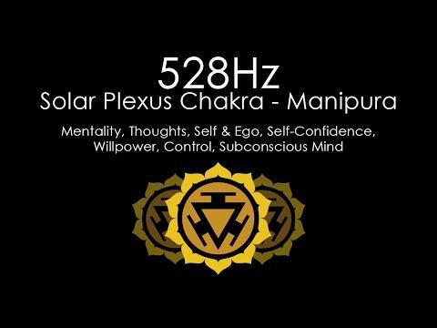 'Self-Confidence & Willpower' 528Hz | Pure Solfeggio Frequency | Solar Plexus Chakra | 1 Hour