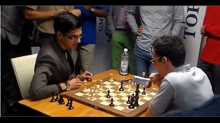 Anish Giri vs Caruana Fabiano: Sinquefield Chess Cup Ultimate Moves Live 2015