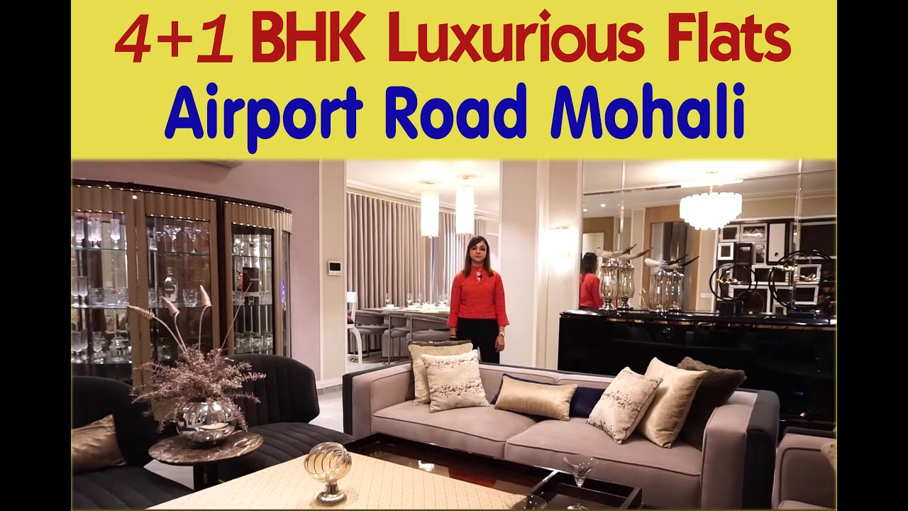 3560sq.ft 4+1BHK Luxurious Apartments Airport Road Mohali | Marbella Grand Flats and Penthouses