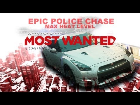 Need For Speed Most Wanted | EPIC Police Chase - 22:58.28 [PC Gameplay]