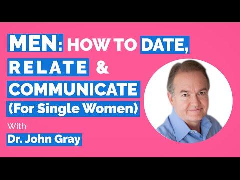 John Gray-Men: Date, Relate & Communicate With Them (For Single Women)
