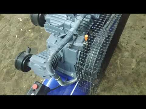 Компрессор 220 вольт Магнус KW-525/100AS обзор.