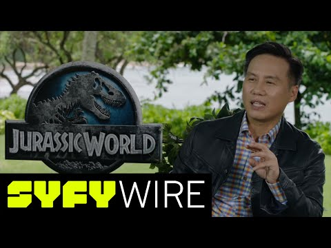 Blastr on Jurassic World Set: BD Wong on Returning to Henry Wu - Celebrity Interview   SYFY WIRE