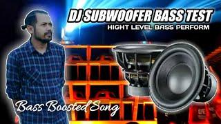 DJ HOROR BASS X FUNNY MELHODY SPECIAL SUBWOOFER BASS TEST HQ