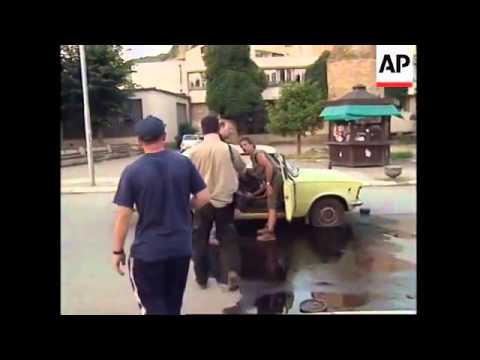 KOSOVË: PRIZREN: TRUPAT GJERMANE TË NATO-s VRASIN DY SNAJPERIST SERBË