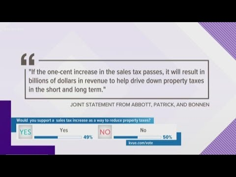 Texas Leaders Propose Raising State Sales Tax To Lower Property Tax Rates