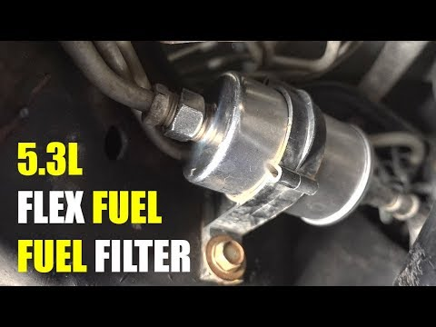2003 Chevy Suburban Fuel Filter Replacement (Flex Fuel) - YouTubeYouTube