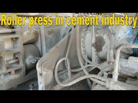 Roller Press Maintenance. Cement Industry. Cement Mill Equipment. How Roller Press Works And Mainten