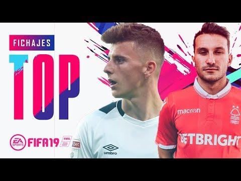 Fichajes Top: Jóvenes Promesa - Mediocampistas (FIFA 19)