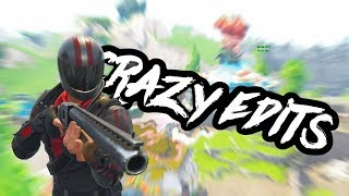 Fortnite crazy edits! battle royale win! fortnite replay montage