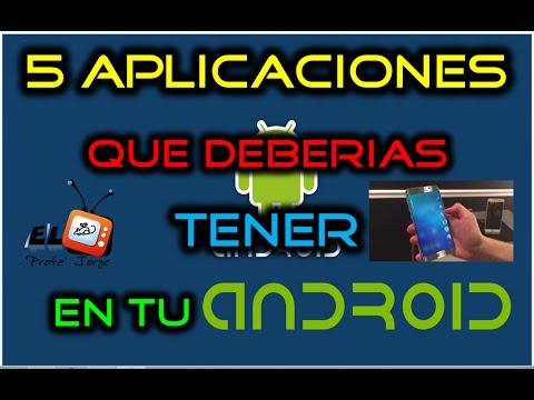 TOP 5 Aplicaciones Que DEBERIAS Tener En Tu Android Y NO Conocias | A Probar YA!! | 2016