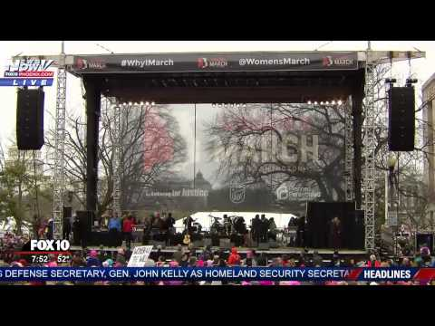 LIVESTREAM: Women's Rights March in DC (FNN)