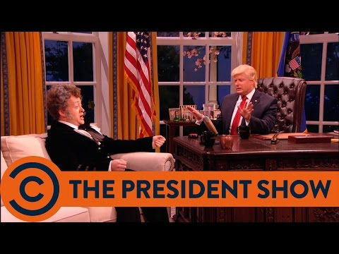 The President Meets Andrew Jackson - The President Show | Comedy Central