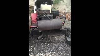 Redémarre du moteur de mon tracteur tondeuse parti