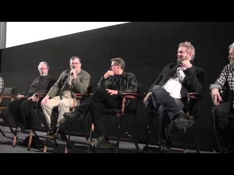 """""""Transformers: The Movie"""" Sunbow Writers, Actors, Artists PANEL at Egyptian Theater- Exclusive"""