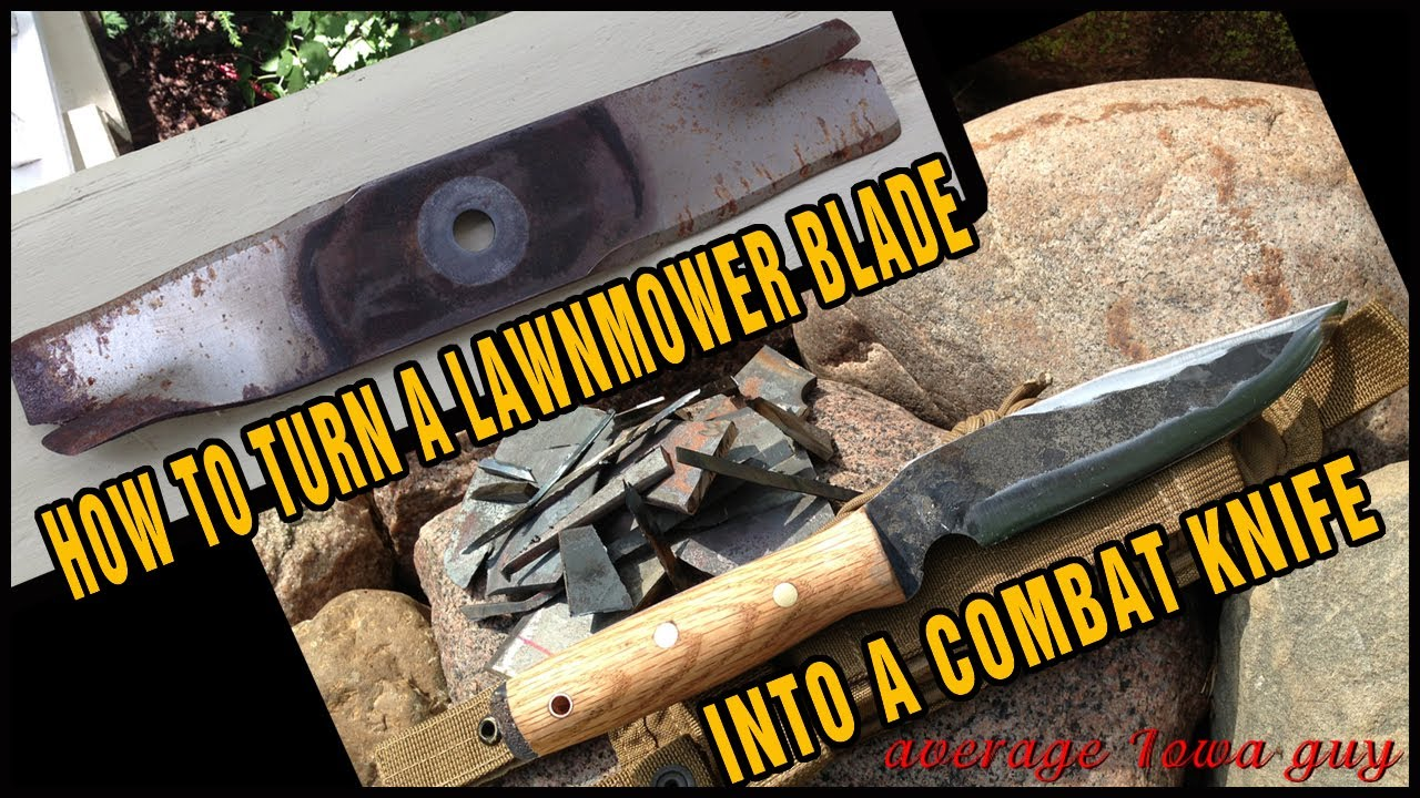 How to choose a lawnmower knife 47