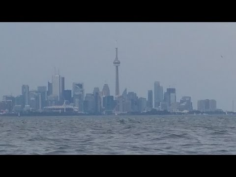 Does the View of  Toronto CN Tower  Prove Flat Earth?