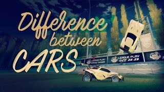 Differences between the cars in Rocket League!