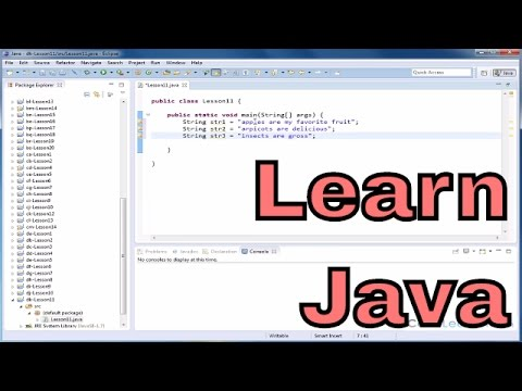 Lesson 11 - Mastering Java - Comparing Two Strings