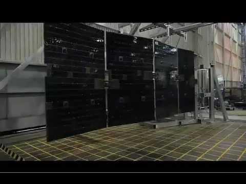 SpaceX Testing - Solar Array Deployment