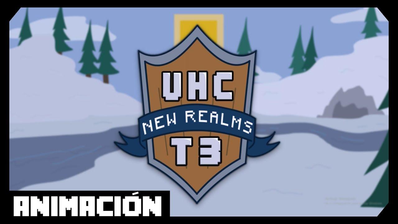UHC NEW REALMS T9 INTRO  Minecraft animation