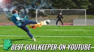 Who is the Best Youtube Goalkeeper? freekickerz vs Modern Goalkeeping - Keeper Battle