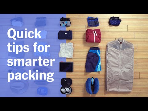 How to Pack for Smarter Travel