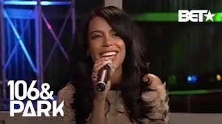 #TBT Aaliyah On Acting & Her Self-Titled Album During First Visit To 106 & Park In 2001   106 & Park