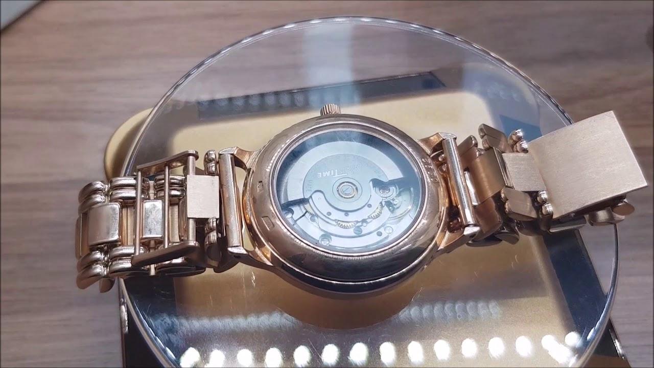 Золотые браслеты к часам НИКА