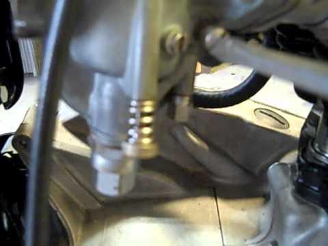 66 Triumph Bonneville Carb Adjustment Youtube
