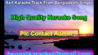 Eto Kosto Mene Neya Jayna Karaoke Asif Bangladeshi Album Song
