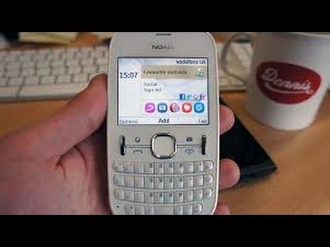 How to Nokia 201 display change