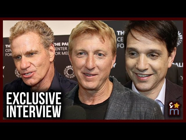 COBRA KAI Season 2 Interviews: Cast Talk Fan Response, Kreese's Return