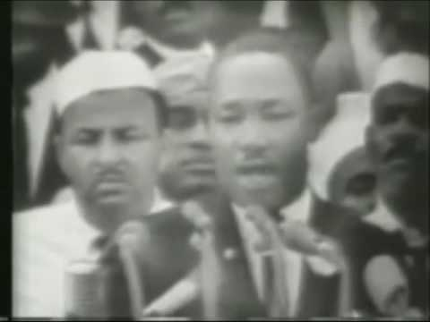 "Мартин Лютер Кинг 1963 года ""У меня есть мечта"""