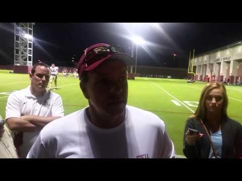 Jimbo Fisher post practice 11/3