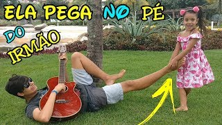 How Sisters irritate brothers /parody - owner of my heart ( PLANETA DAS GÊMEAS) song for kids