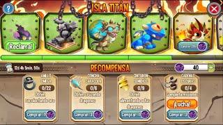 Dragon City l Evento Isla Titan l 5. Mision Dragon Ragnor