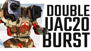 Viable Double U-AC20 Hunchback IIC - Mechwarrior Online The Daily Dose #668