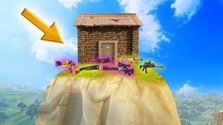 HIDDEN LEGENDARY LOOT HOUSE! (Fortnite: Battle Royale)
