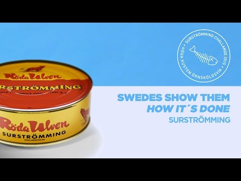 Swedes Show Them How It's Done (BuzzFeed Response) – #SURSTROMMINGCHALLENGE2k15
