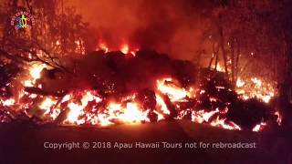 May 2018 Video Compilation Hawaii Kilauea Eruption in Leilani Estates along the East Rift Zone