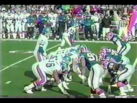 Bills vs Broncos 1991 AFC Champ pt3 of 8