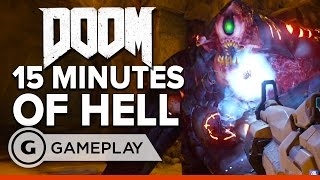 15 Minutes of Single Player Hell EXCLUSIVE Gameplay - DOOM