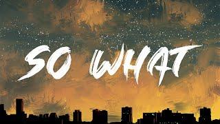 P!nk - So What [Full HD] lyrics