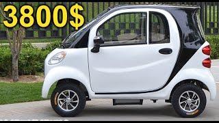 Электромобиль за 3800$ с AliExpress