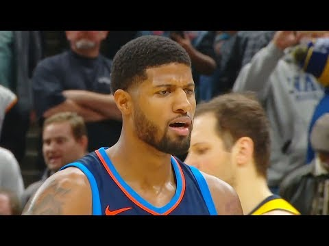 Paul George Returns to Indiana & Gets Booed! Thunder vs Pacers