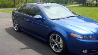2008 Acura TL Type S Kinetic Blue Pearl, Female owner talks about her show car