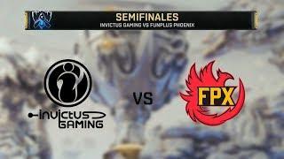 INVICTUS GAMING VS FUNPLUS PHOENIX | WORLDS 2019 | SEMIFINAL - MAPA 4 | League of Legends