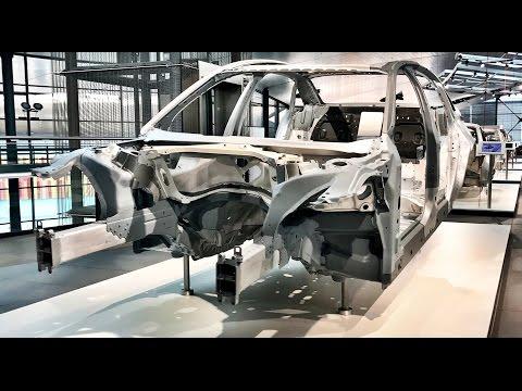 Audi A8 Produktion - Space Frame im neuen A8 D5 (2018)