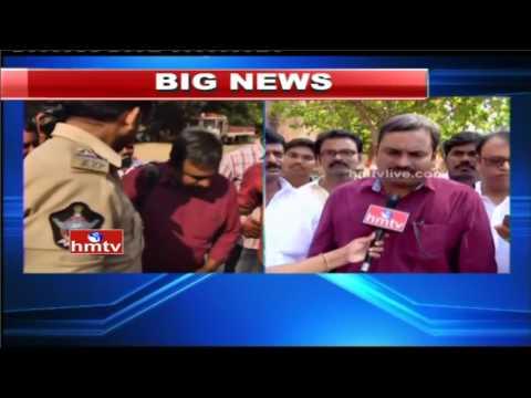 Political Punch Editor Inturi Ravikiran Arrest in Vizag Over MLA Anitha Complaint | HMTV